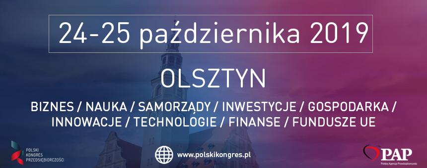 VII Polski Kongres Przedsiębiorczości w Olsztynie!